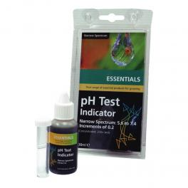 ESSENTIALS ph test kit (narrow spectrum)