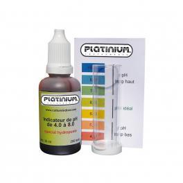 Τεστ μέτρησης pH (μεγάλου εύρους 4,0-8,0 )