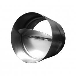 Non return steel damper 125mm