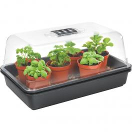 Small Electric propagator with heater and aeration 32x28x18
