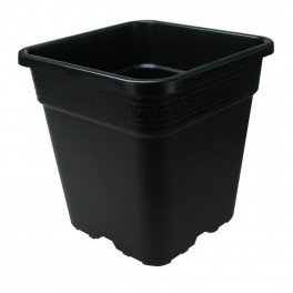 Black Square Pot 5.7lt